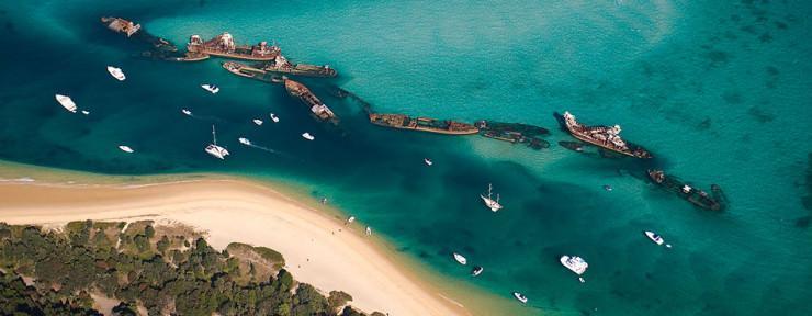 10 جزایر بکر در استرالیا