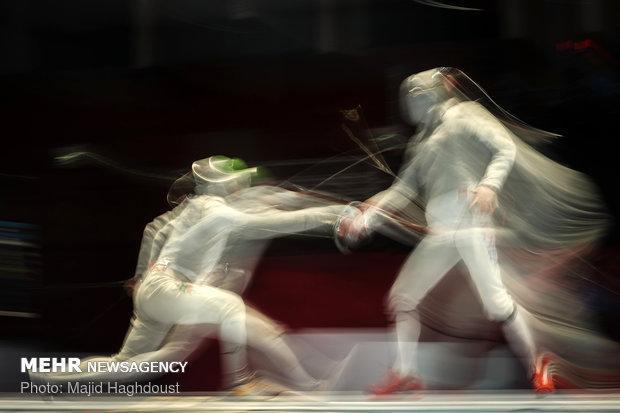 یک سهمیه شمشیربازی المپیک آرژانتین به ایران رسید
