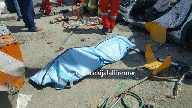 تصادف در چهارمحال و بختیاری یک کشته و 7 مصدوم برجا گذاشت