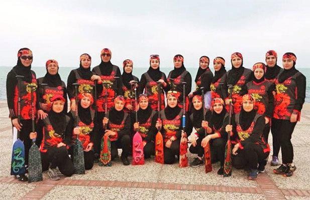 مسابقات لیگ دراگون بوت بانوان با قهرمانی تیم سکان تهران به سرانجام رسید