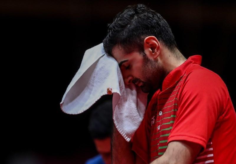 تنیس روی میز قهرمانی جهان، حذف تیم دوبل برادران عالمیان، نیما، تنها نماینده باقیمانده ایران