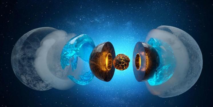 فراوری یخ های نادر اورانوس و نپتون در زمین