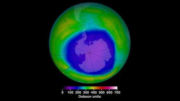 سوراخ لایه اُزون چگونه بر اقلیم زمین تاثیر می گذارد؟