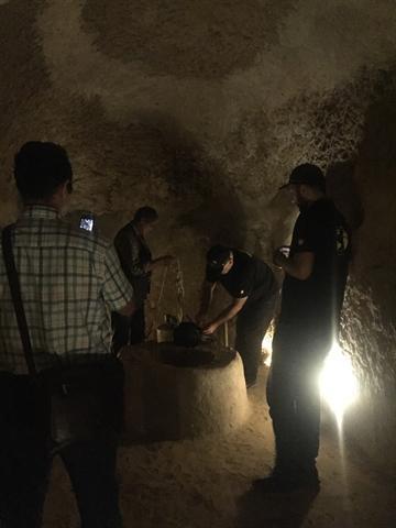 انجام مطالعات زمین شناسی و اسکن لیزر شهر زیرزمینی نوش آباد آغاز شد