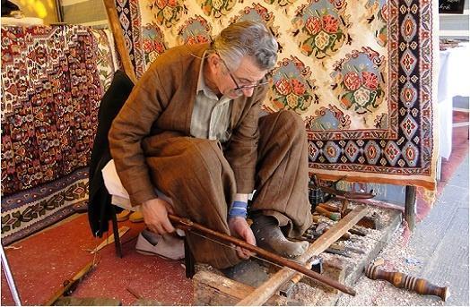 صادرات 674هزار دلاری صنایع دستی کردستان در سال گذشته