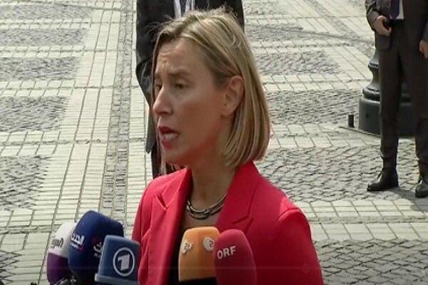 اعلام مخالفت اتحادیه اروپا با تحریم های یکجانبه آمریکا