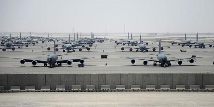 فرماندهی تروریست های آمریکا تغییر مرکز فرماندهی عملیات هوایی از قطر را تکذیب کرد
