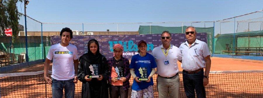 قهرمانی و نایب قهرمانی صفی و چراغی در رقابت های تنیس بین المللی جوانان