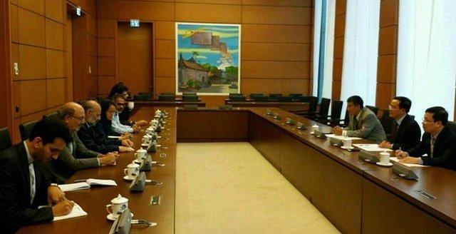 حضور هیات پارلمانی ایران در مجلس ملی ویتنام