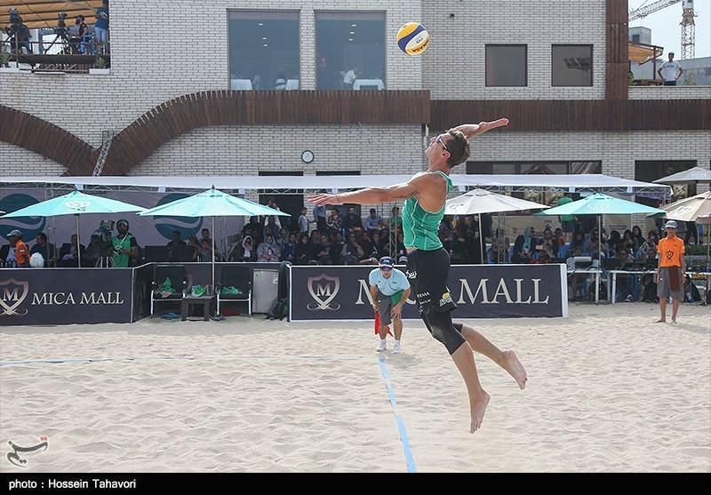 تور جهانی والیبال ساحلی عمان، تیم ایران نایب قهرمان شد