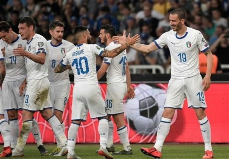 سرگروهی ایتالیا در یورو 2020 قطعی شد، آتزوری 3 بازی نخست را در خانه برگزار می نماید