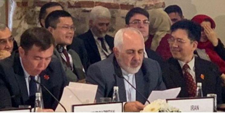 ظریف در هشتمین کنفرانس وزرای قلب آسیا در استانبول