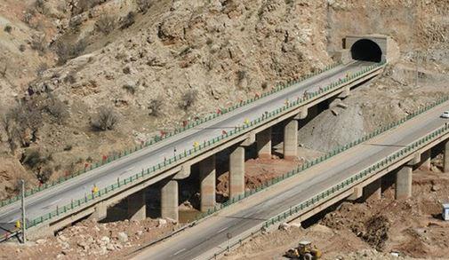 صرفه جویی 86 میلیون لیتری سوخت با بهره برداری از قطعه اول آزادراه تهران-شمال