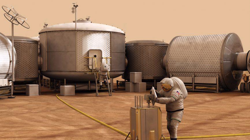 غذای میلیون ها انسان ساکن در مریخ چه خواهد بود؟