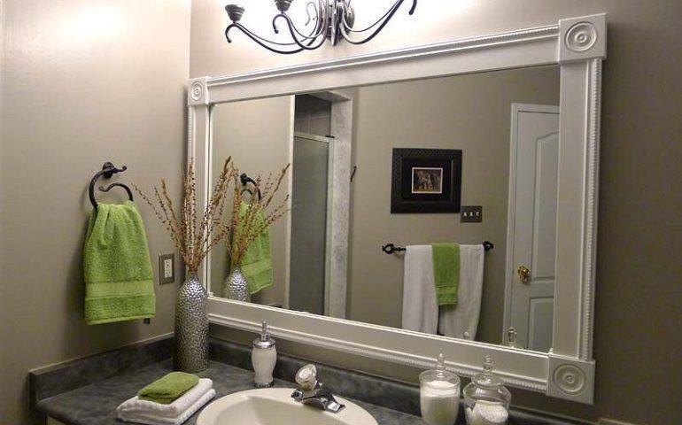 نقش آینه در زیبایی حمام
