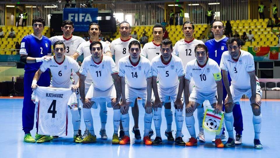 جدیدترین رنکینگ تیم های ملی فوتسال دنیا اعلام شد، ایران، اول آسیا و ششم دنیا