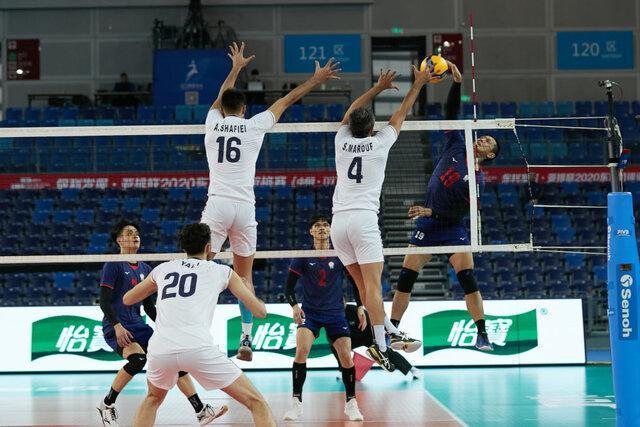 آمار بازی تیم ملی والیبال ایران مقابل چین تایپه