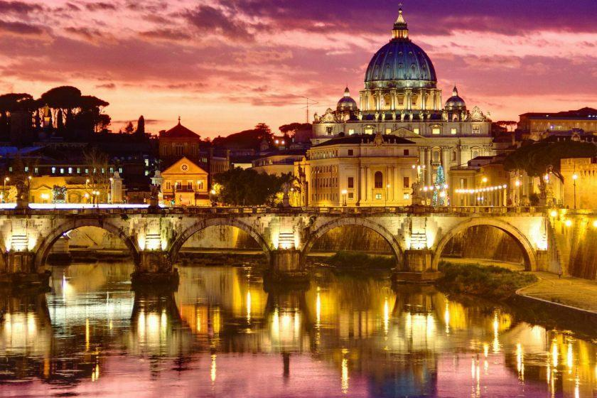 گشت و گذار شبانه در رم