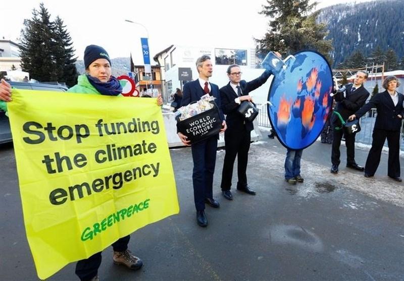یورش پلیس زوریخ به معترضان برگزاری مجمع اقتصاد جهانی