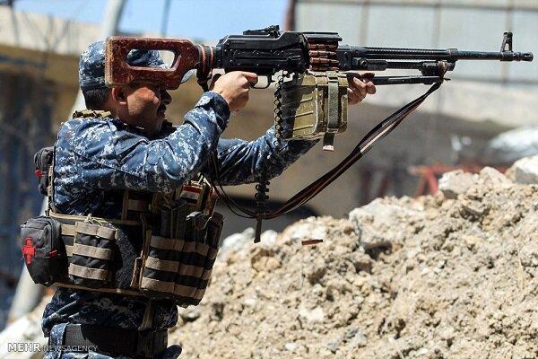 متلاشی شدن یک گروهک تروریستی در شهر موصل عراق