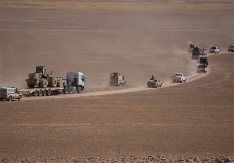 کمربند امنیتی حشد شعبی در نوار مرزی سوریه و عراق