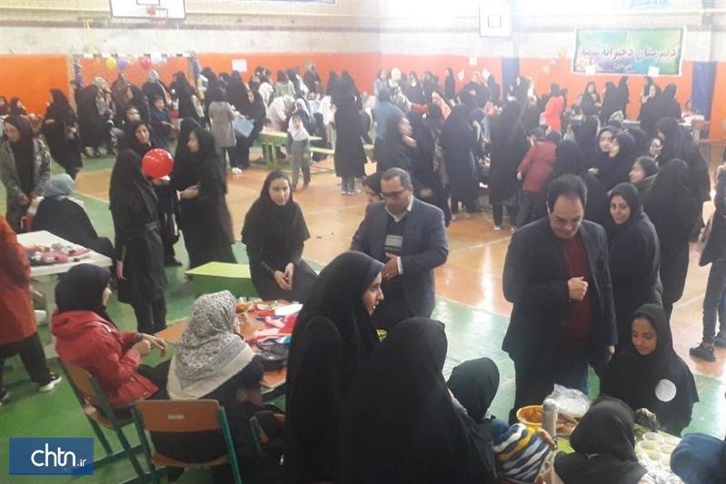 نمایشگاه صنایع دستی دانش آموزان جاجرمی برپا شد