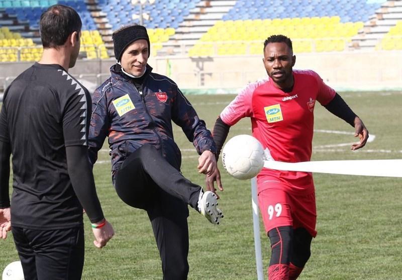 گزارش تمرین پرسپولیس، تأکید گل محمدی روی اجرای جزئیات و آمادگی بالای خلیل زاده