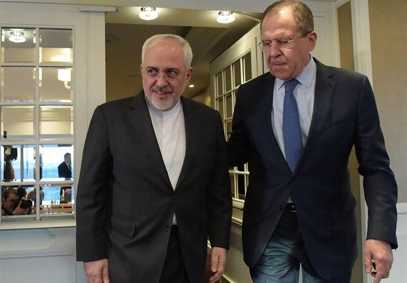 لاوروف در تماس تلفنی با ظریف: روسیه در مبارزه با کرونا یاری می نماید
