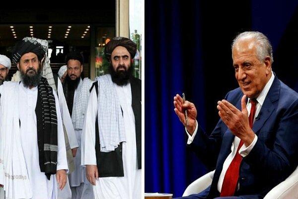 خلیل زاد با هیئت طالبان در قطر ملاقات کرد