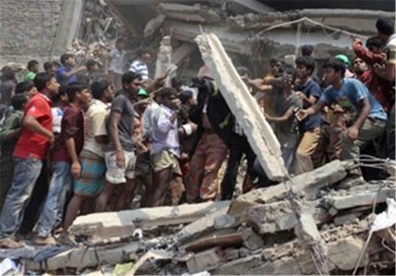 کشته شدن 6 نفر در حادثه ریزش ساختمان یک کارخانه در کامبوج