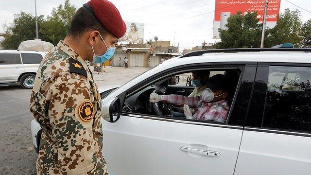 بازداشت بیش از 19 هزار ناقض مقررات منع آمد و شد در عراق
