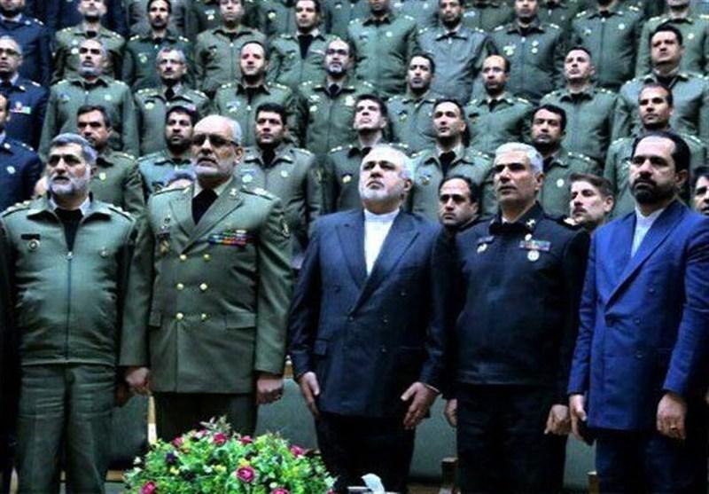 ظریف روز ارتش را به دلاورمردان ارتش جمهوری اسلامی ایران تبریک گفت