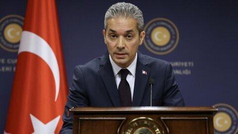 ترکیه: گزارش آمریکا بی اساس، بی اعتبار و مبهم است