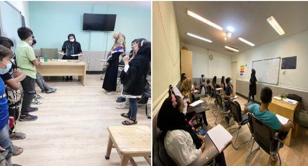 خبرنگاران سه مرکز مشاوره ازدواج و خانواده برای بچه ها کار دوره آموزشی برگزار کردند