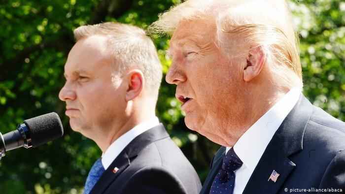آمریکا به لهستان نیرو می فرستد، ترامپ: پیام قدرتمندی برای روسیه داریم