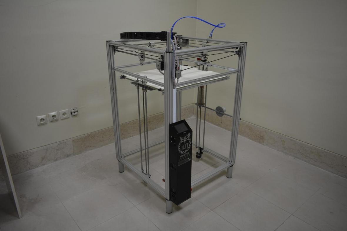 چاپگر سه بعدی با قابلیت تولید کامپوزیت های الیافی در دانشگاه صنعتی اصفهان طراحی و ساخته شد