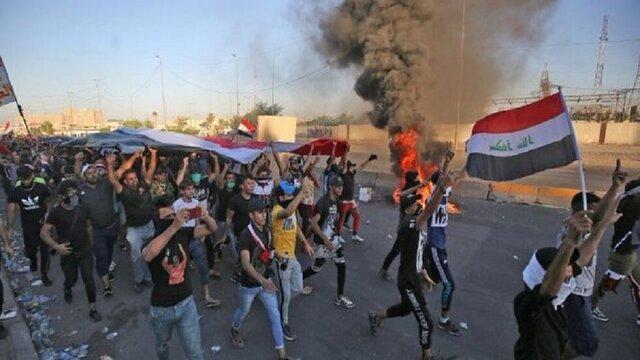 معترضان یک نیروگاه برق در جنوب عراق را بستند