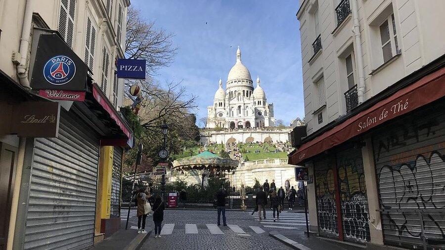 پاریس ماسک زدن را در بعضی از مناطق این شهر اجباری می نماید
