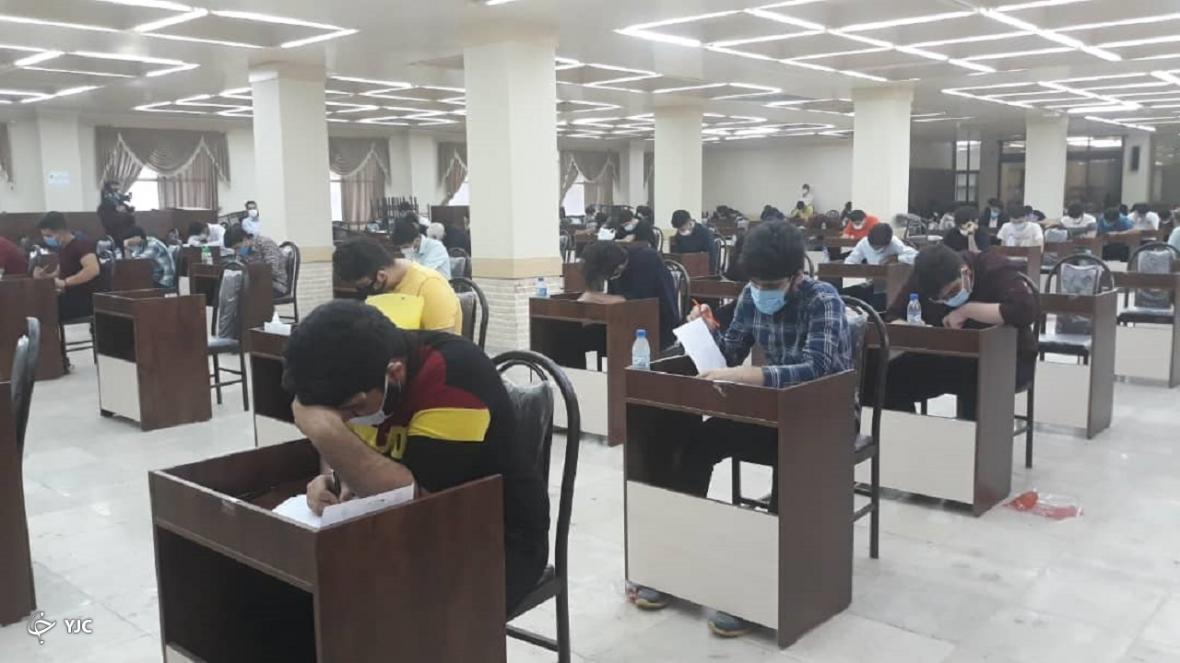 داوطلبان بوشهری رقابت در آزمون سراسری را شروع کردند