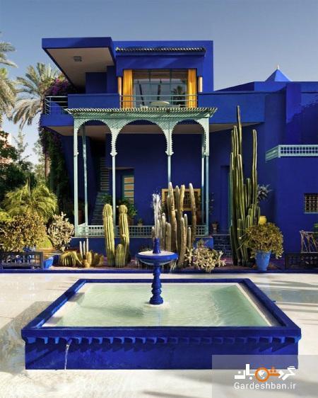 باغ ماژورل، از جاذبه های دیدنی مراکش، عکس