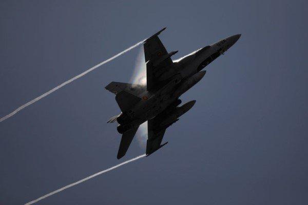 یک فروند جنگنده آمریکا سقوط کرد