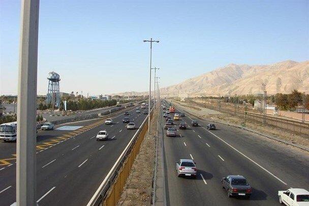 آخرین شرایط تردد در جاده ها ، ترافیک روان در محور های شمالی