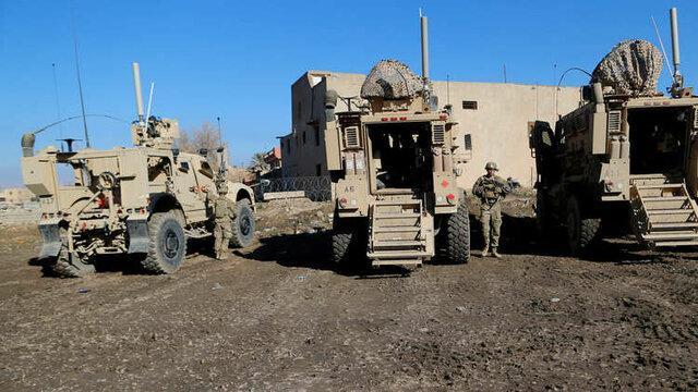 خروج تجهیزات و سربازان آمریکایی از شرق سوریه