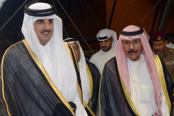 امیر قطر از کویت قدردانی کرد