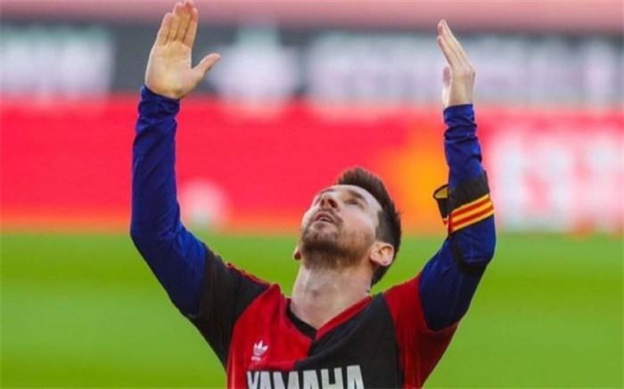 شادی به یاد مارادونا برای لیونل مسی دردسارساز شد