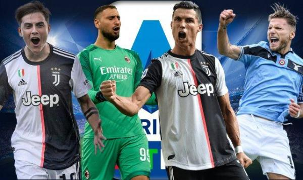 اعلام اسامی نامزد های بهترین بازیکنان فصل گذشته سری آ (2019، 20)