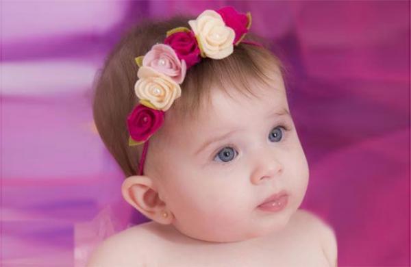 آموزش درست کردن 4 مدل تل سر نوزاد زیبا و شیک