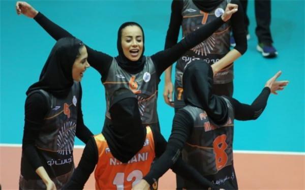 لیگ برتر والیبال زنان؛ سایپا بدون باخت به جام رسید