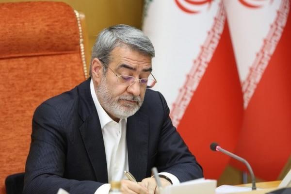 پاسخ وزیر کشور به انتقاد نماینده تبریز درباره اتفاقات آبان 98
