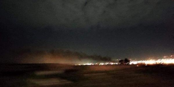 شنیده شدن صدای انفجار در اربیل عراق، راه های منتهی به کنسولگری آمریکا بسته شد